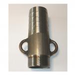 Canhão Rosca Escarpa em Aço Inoxidável AISI 316