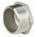 Tampão Macho em Aço Inoxidável AISI 316